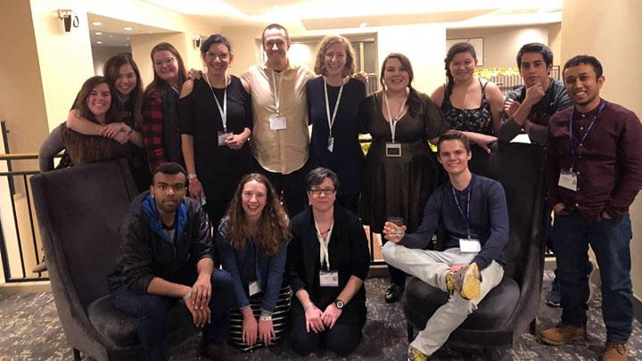 Undergraduate students from University of Calgary at Urbana