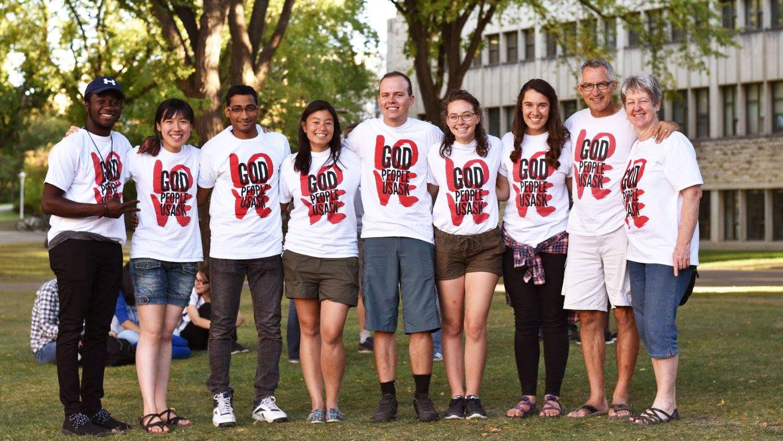 Leadership team at University of Saskatchewan