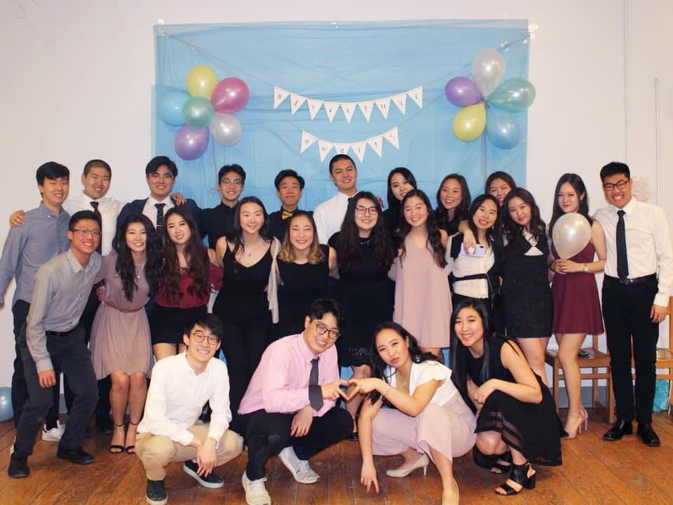 Queens University students