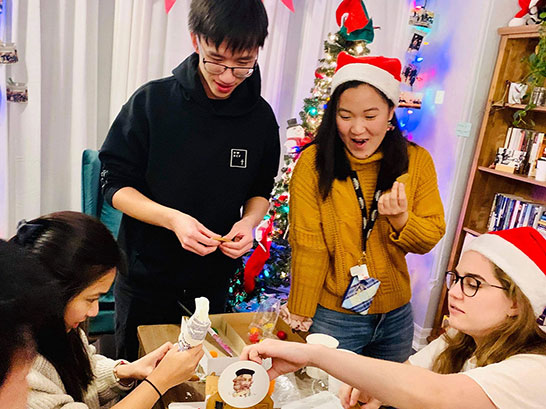 University of Toronto students Christmas party
