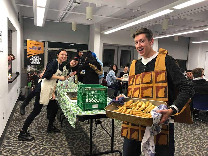 Waffle night at OCAD University